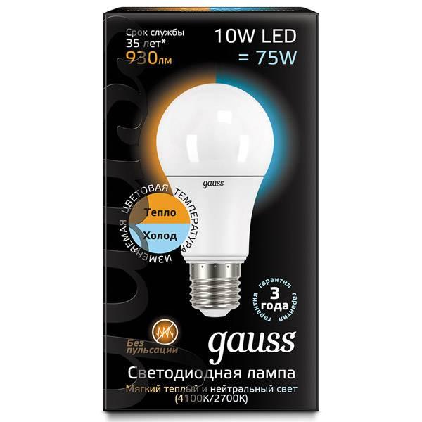 Светодиодные лампы gauss (гаусс)