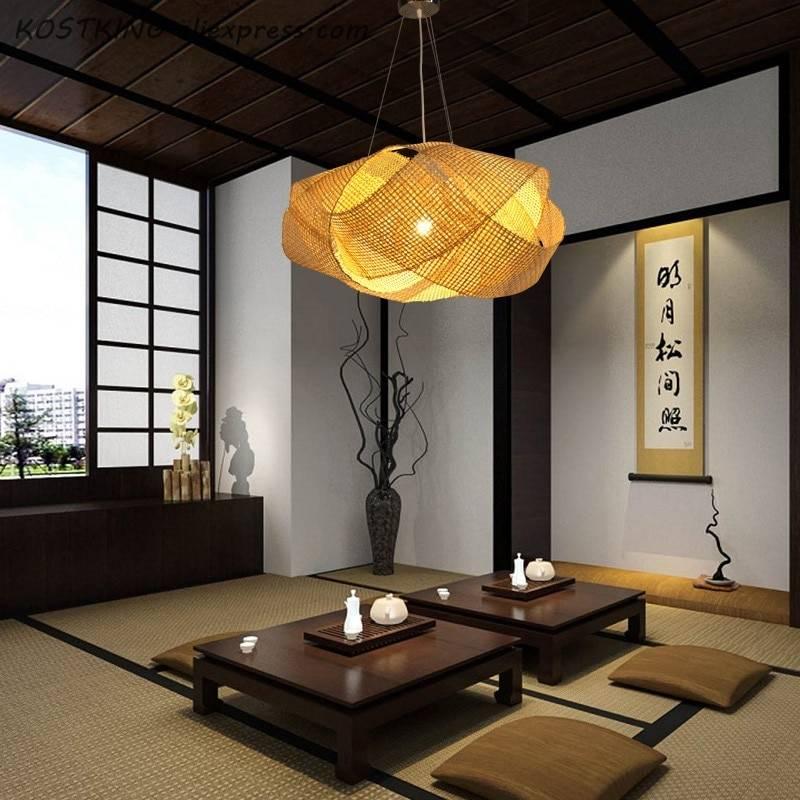 Светильники в японском стиле. красота в простоте и лаконичности