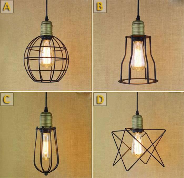 Как сделать освещение в стиле лофт – делаем светильник своими руками и подбираем лампу
