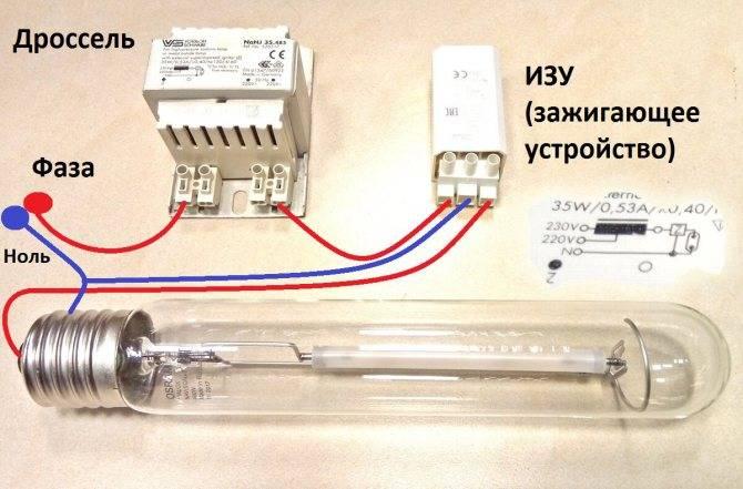 Лампы днат: технические характеристики и область применения