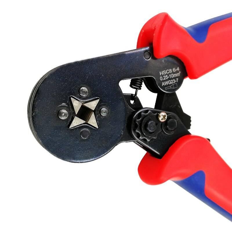 Клещи обжимные для опрессовки наконечников проводов: что это такое и как пользоваться