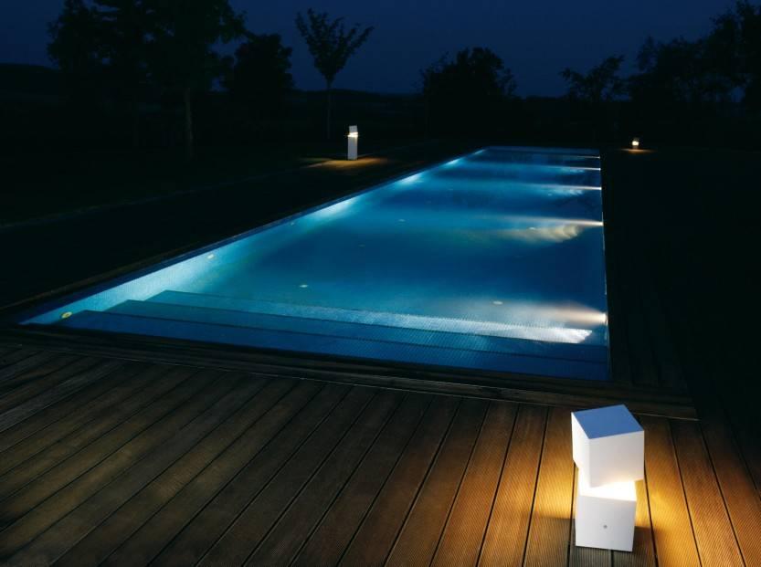 Выбираем самые лучшие подводные светильники для бассейна