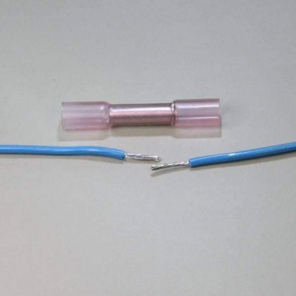 Опрессовка проводов с помощью гильз