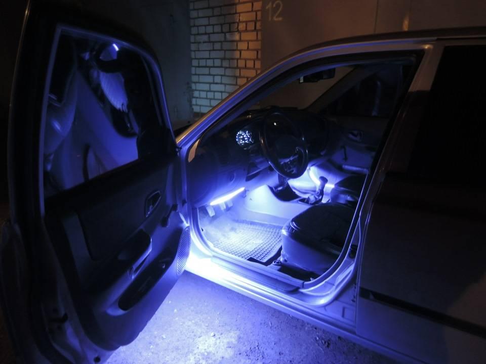 Как подключить светодиодную ленту в машине и авто к прикуривателю