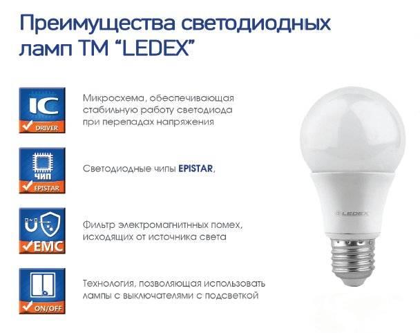 Виды лампочек освещения для дома. сравнение и характеристики.