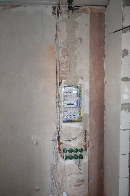 Замена электропроводки в хрущевке своими руками