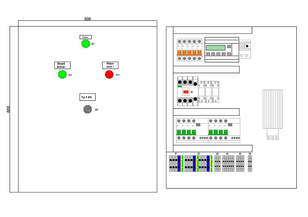 Схема управления освещением: уличным, наружным, внутренним схема управления освещением: уличным, наружным, внутренним