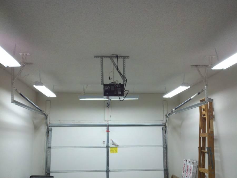Как выбрать светильник для гаража?