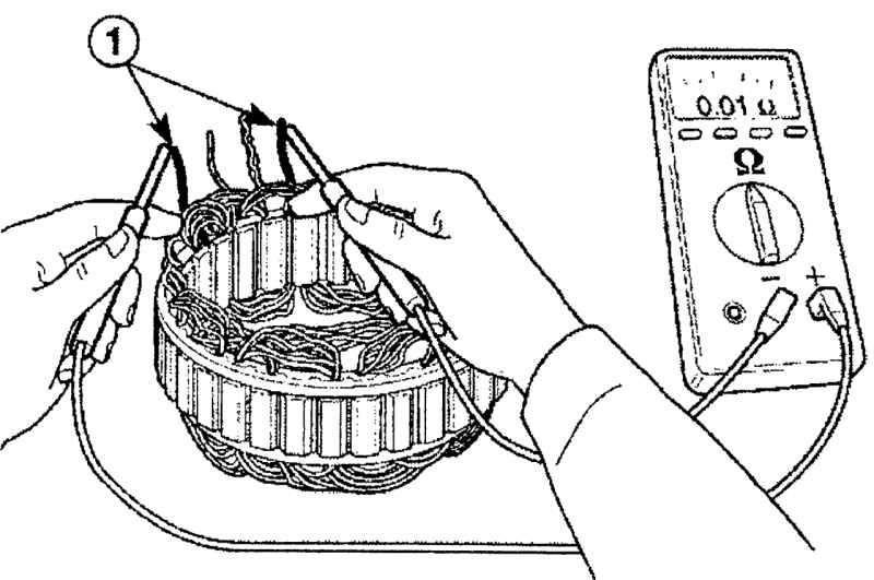 Как проверить исправность статора