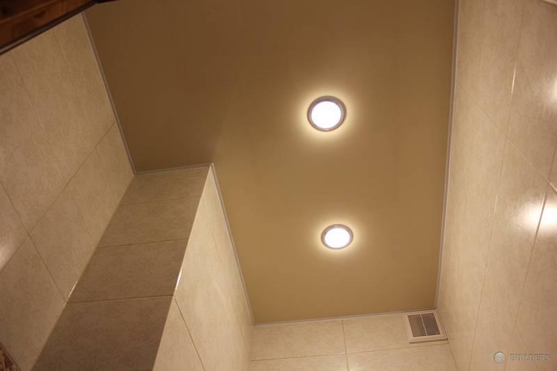 Организация освещения в туалете