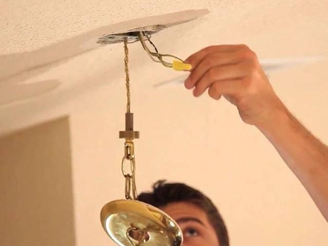 2 способа - как подключить люстру к выключателю. ошибки схемы. подключение через двухклавишный с 3 проводами или диммер.
