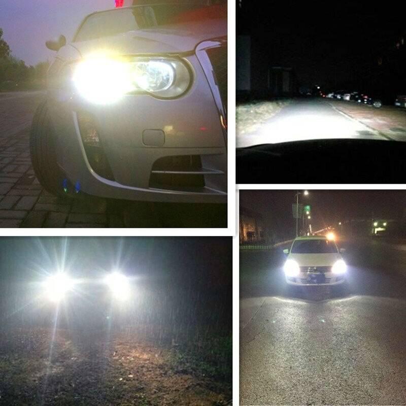 Можно ли ставить светодиодные лампы в фары головного света? какой штраф за led-светодиоды?   farainfo.ru