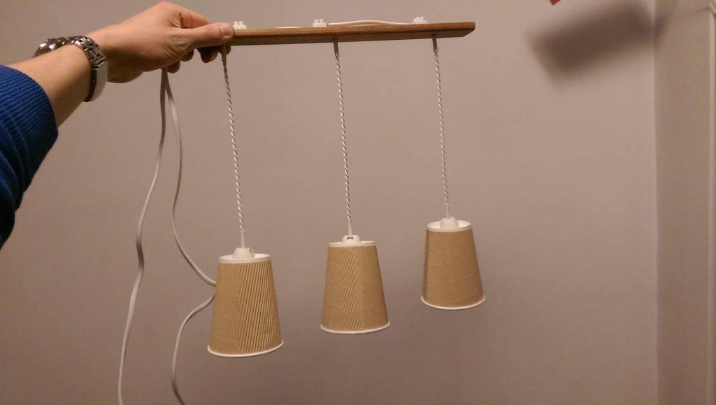Светильник своими руками: мастер-класс и инструкции по созданию светильника (130 фото)