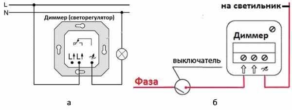 3 вида диммеров - какой лучше выбрать, проблема подключения со светодиодными лампами.