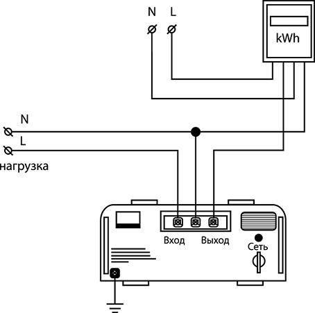 Как подключить стабилизатор напряжения к домашней электропроводке