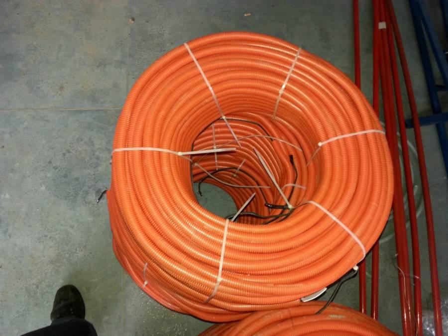 Проводка под стяжкой - тонкости монтажа электропроводки в полу