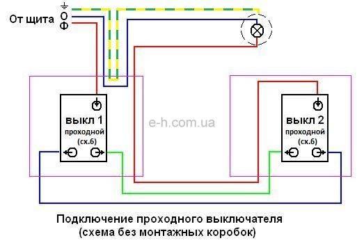 Проходной выключатель legrand: схема подключения (видео, фото)