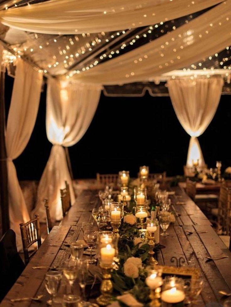 Теплая сказка: оформление зимней свадьбы в идеях талантливых декораторов