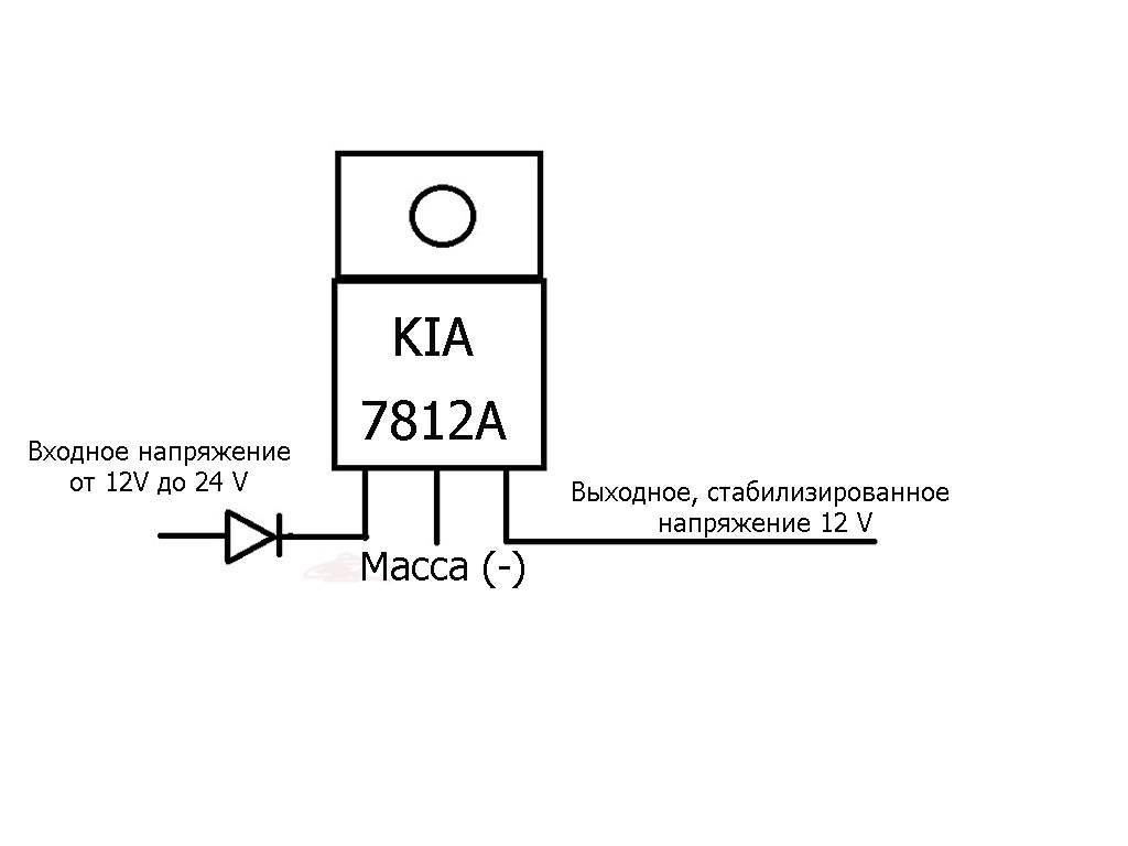 Стабилизатор напряжения 12 вольт для светодиодов в авто своими руками: схема регулятора напряжения для светодиодной лампы