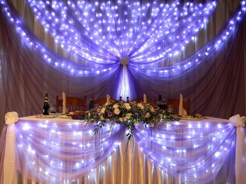 Украшение на свадьбу зала: мегакрутые оформления + 175 фото