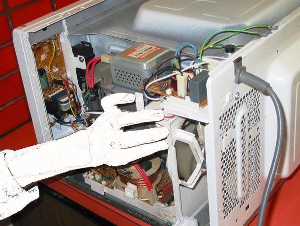 Основные неисправности микроволновки и способы их устранения