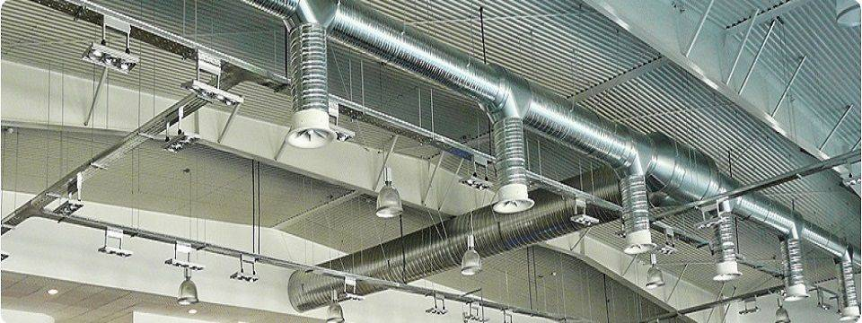 Крепление воздуховодов вентиляции снип