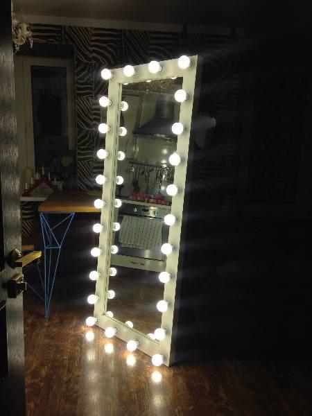Гримерное зеркало своими руками: пошаговая инструкция изготовления зеркала визажиста с подсветкой. чертежи и схемы