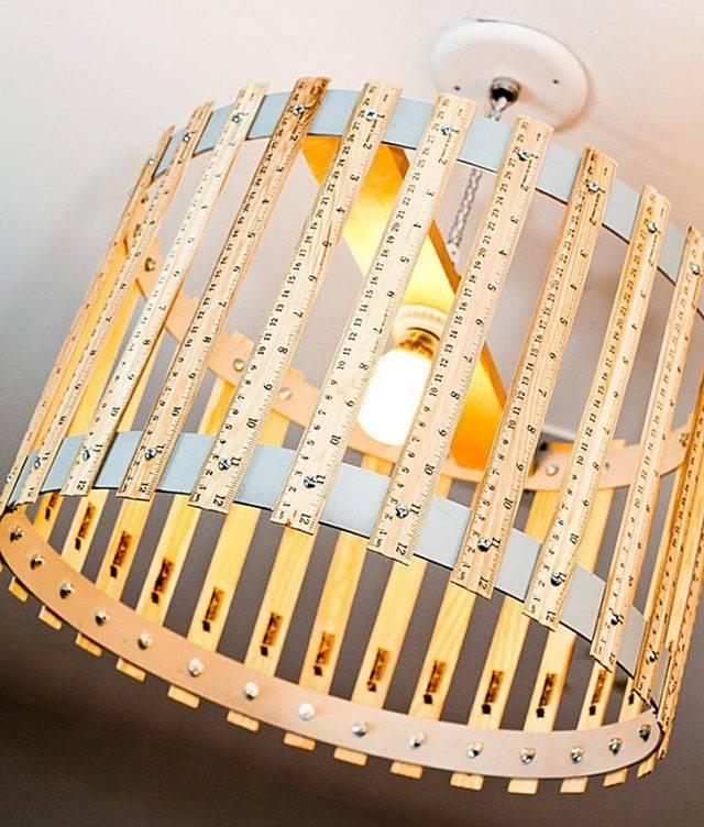 Настольная лампа (своими руками): из подручных материалов, оригинальные идеи
