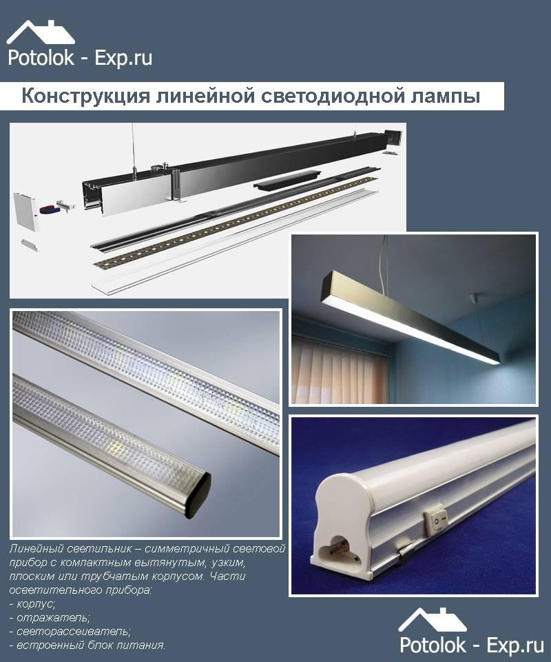 Установка светодиодных светильников на потолок: монтаж потолочных диодных светильников в потолок, схема подключения