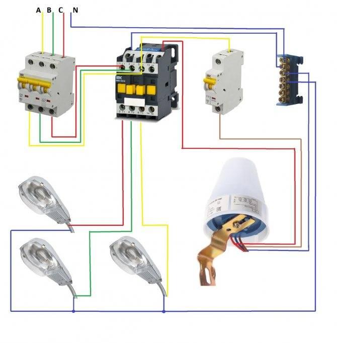 Фотореле для уличного освещения. как подключить фотореле