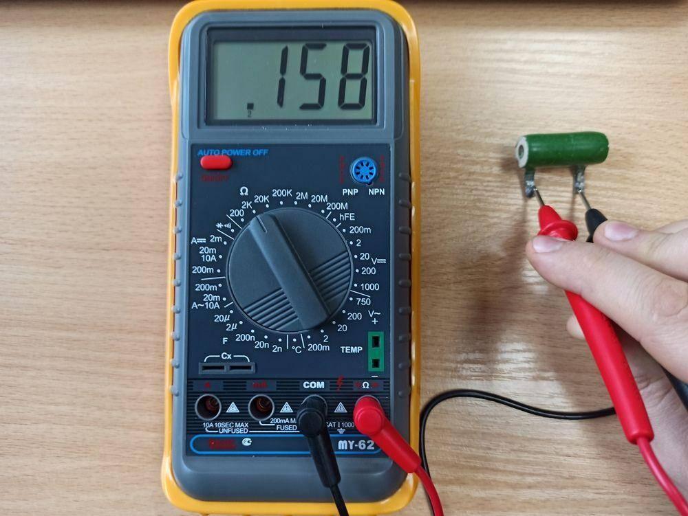 Как проверить резистор:обзор методов