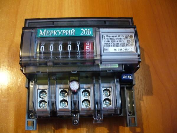Счетчик электроэнергии меркурий 201