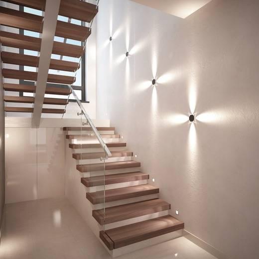 Правильное освещение лестницы