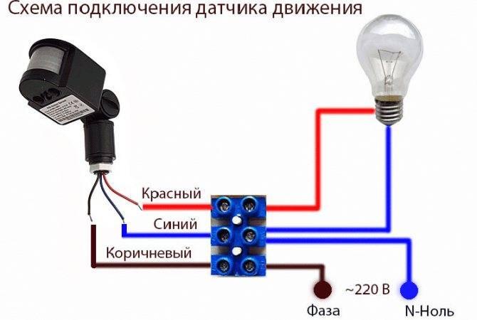 Как подключить светодиодный прожектор – руководство по монтажу