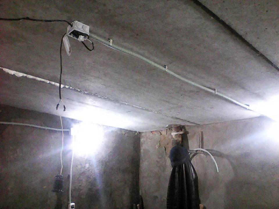 Электропроводка в гараже: варианты подключения, схемы электропроводки, монтаж