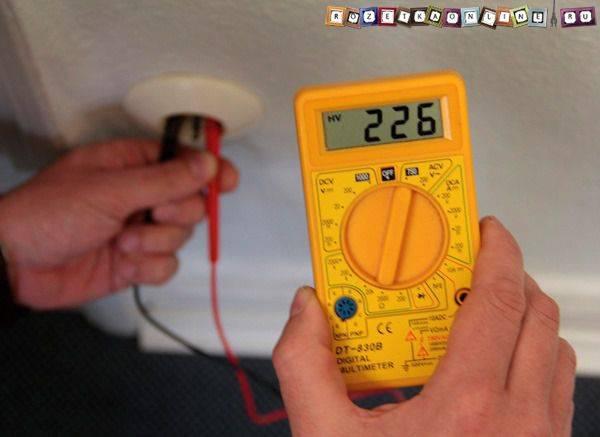 Как определить фазу и нуль - индикаторной отвёрткой, мультиметром, тестером, и без приборов