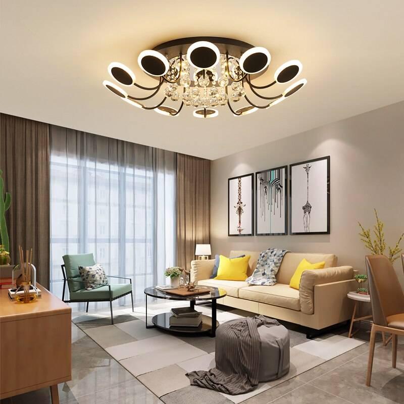 Современные гостиные - модные тренды выбора светлых и темных оттенков. подбор мебели, светильников и декора для современных гостиных (фото + видео)