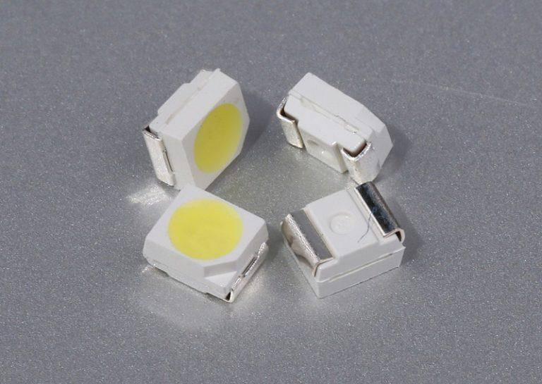 Характеристики светодиодов smd 3528 5050 5630 5730 3014 2835