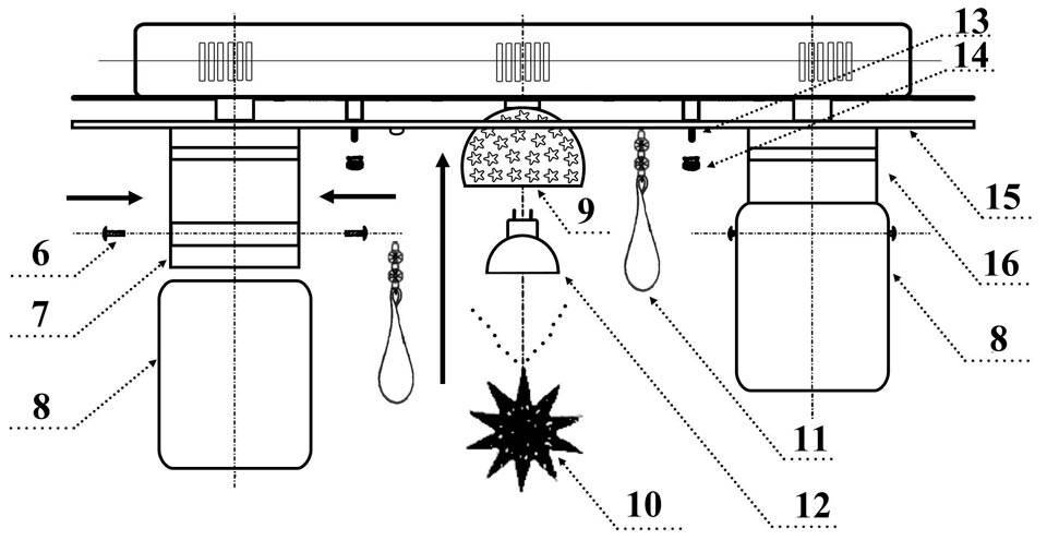 Сборка и подключение люстры
