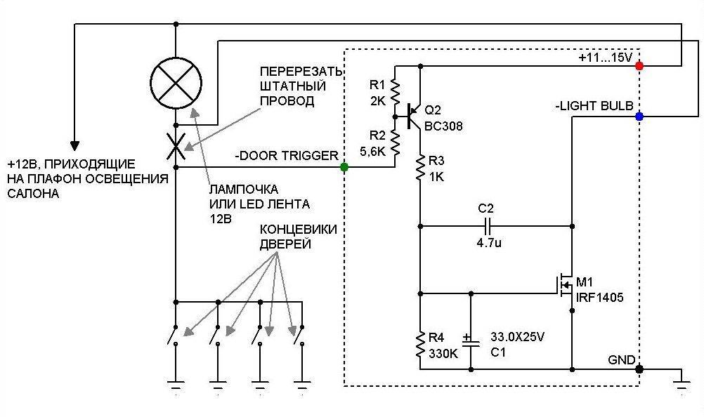Не горит плафон освещения салона на ладе приоре: замена лампы