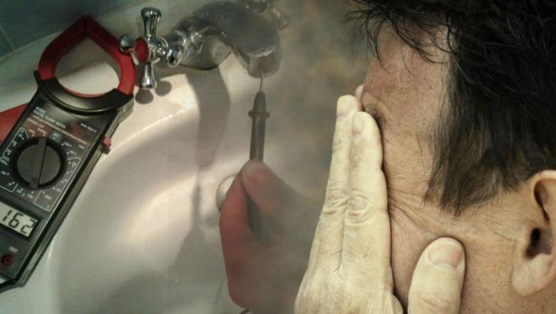 Бьет током от воды из крана: что делать для диагностики и решения проблемы