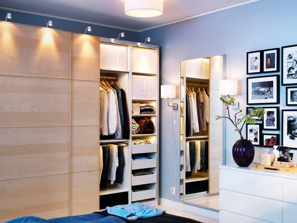 Освещение в гардеробной: подсветка в комнате, какие светильники выбрать, идеи света для гардероба