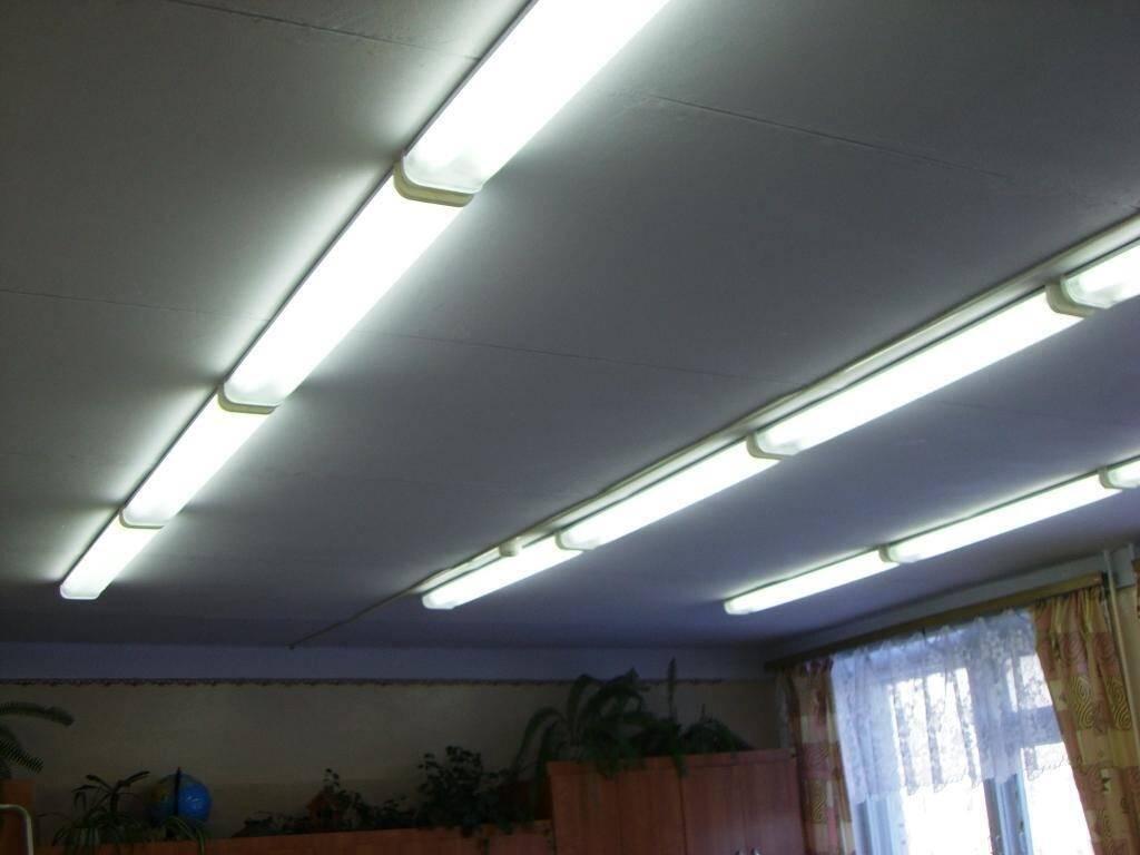 Источники искусственного освещения
