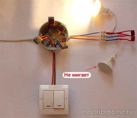 Почему моргает светодиодная лента во включенном состоянии