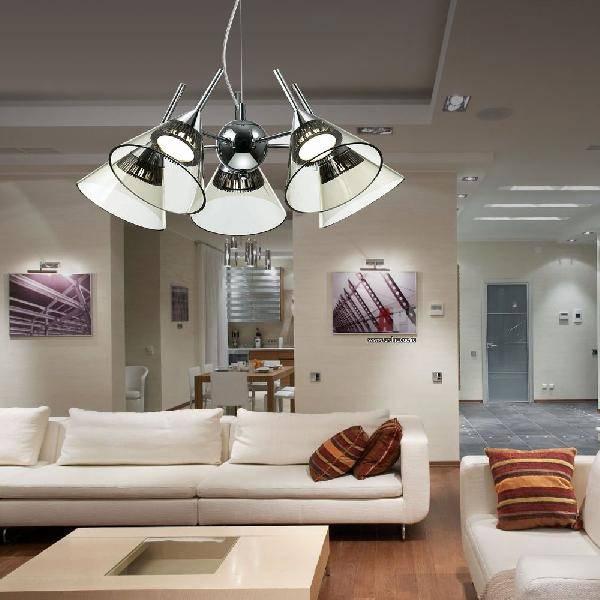 Люстры для гостиной в современном стиле (55 фото): потолочные люстры в зал, варианты в интерьере