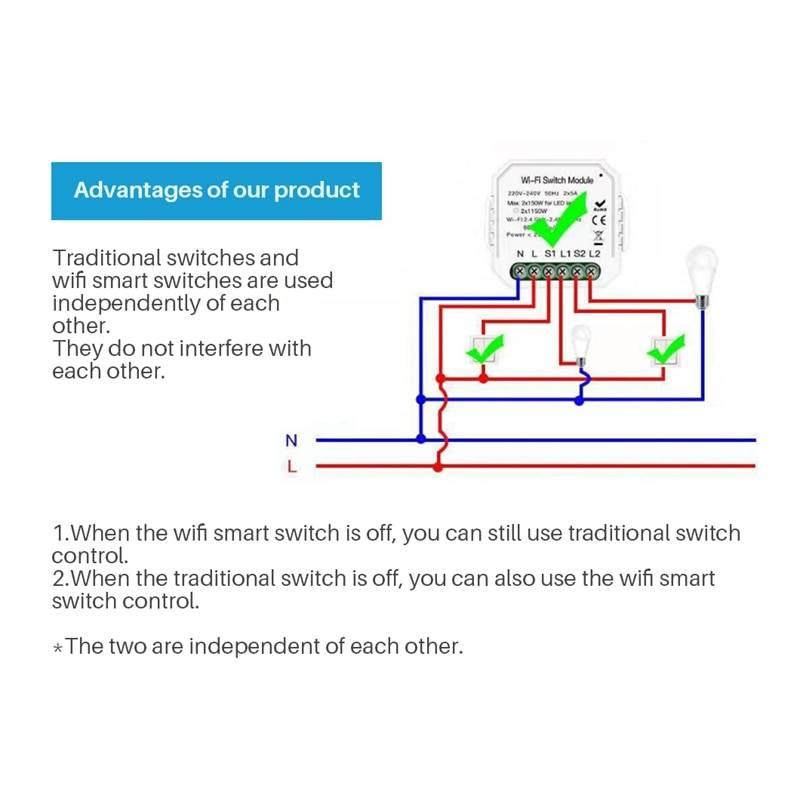 Как подключить и настроить бесконтактный выключатель света