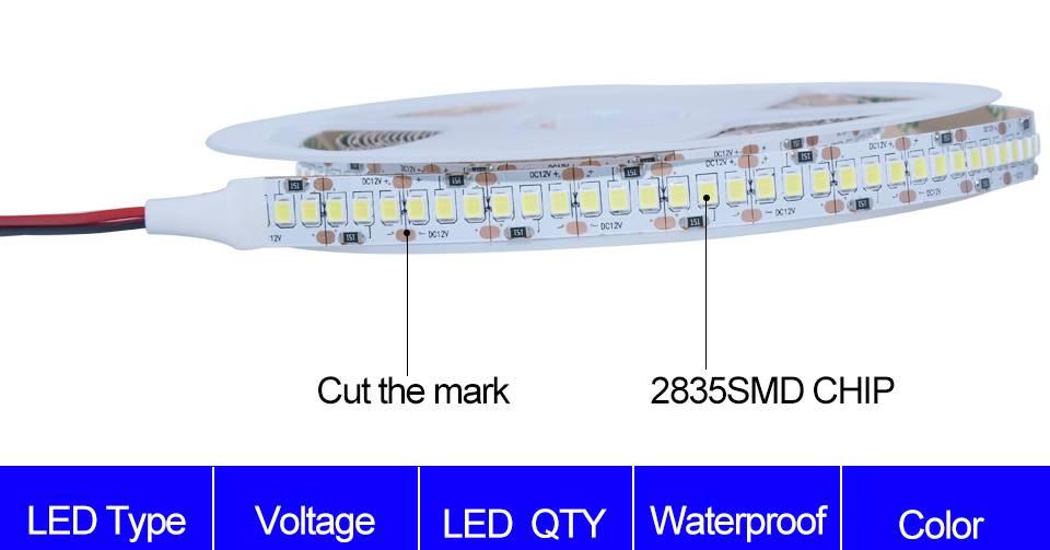 Подключение и маркировка светодиодных лент