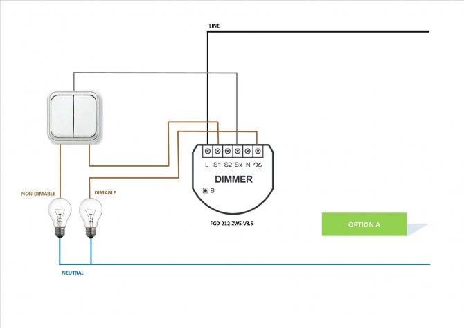 Подключение диммера: схемы подключения и инструкция по монтажу