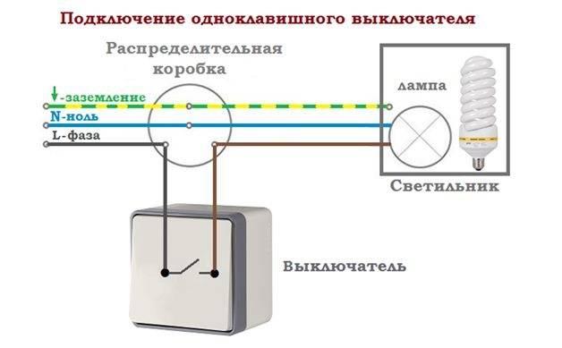 Схемы подключения розеток и выключателей своими руками