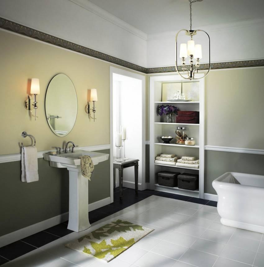 Бра для ванной комнаты: виды, преимущества, выбор, установка | ремонт и дизайн ванной комнаты